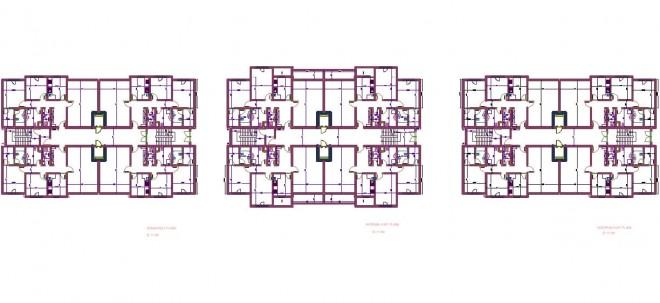 mimari-apartman-projesi-taslagi-dwgindir