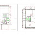 Dublex villa projesi taslağı